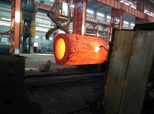 Forged pipe ring