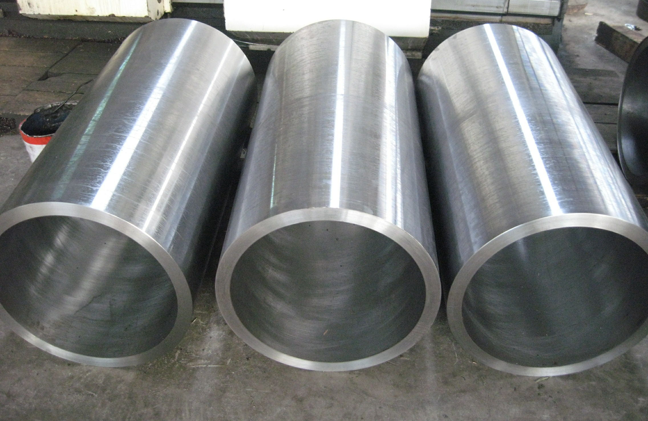 Steel sleeve for cold rolling mill aluminum stainless steel plate