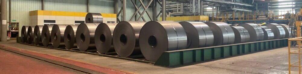 Application of steel sleeve