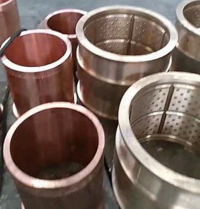 Centrifugal casting copper sleeve